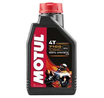 Motul 12x1L 7100 10w40 olja helsyntet