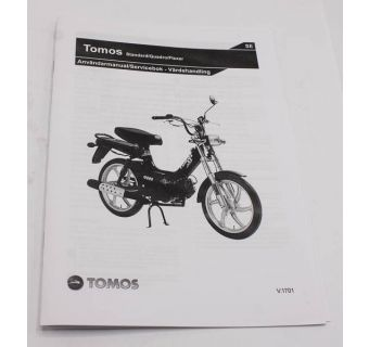 Användarmanual Tomos Flexer, Standard, Quadro