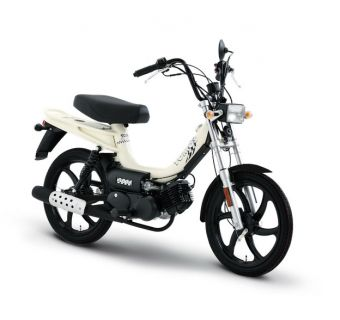 Tomos Flexer XL Vit 25km/h (klass 2 moped)