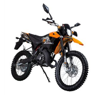 KSR Moto TR X Svart/Orange 2-takt Euro4