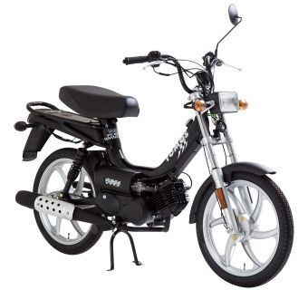 Tomos Flexer Svart 25km/h (klass 2 moped)