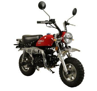 moped moneybike viarelli klass 1, 45 km / h prisvärd