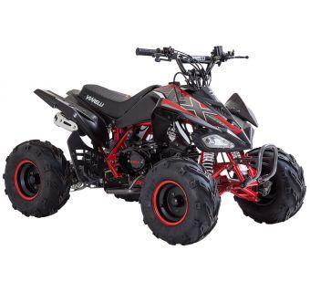 Viarelli Agrezza ATV 90cc mattsvart/röd