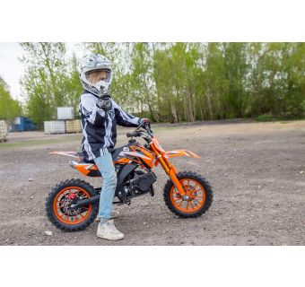 X-Pro Firefly minidirtbike 49cc Orange