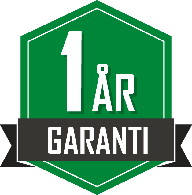 1 års garanti viarelli