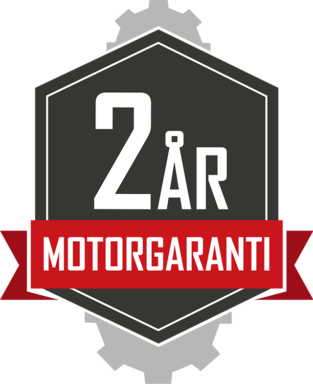 2 års motorgaranti viarelli